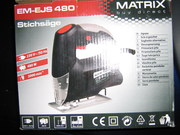 Продам электролобзик Matrix EM-EJC 480