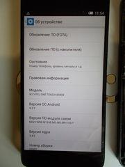 Alcatel OneTouch 6040 X Idol Состояние очень хорошее