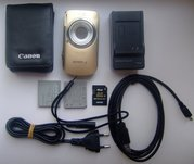 Цифровой фотоаппарат Canon Digital IXUS 110 IS Gold - 185 у.е. торг